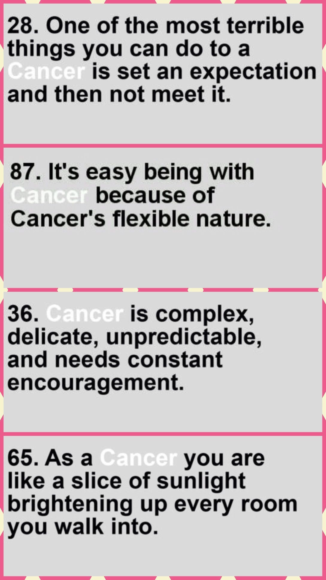 Cancer Sign Quotes Cancer Girl Aka All About Me Cancer Zodiac  Pinterest