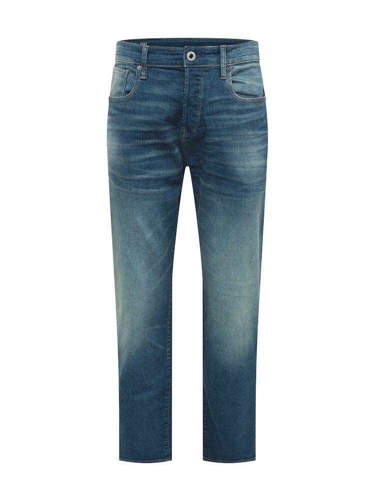 G-Star RAW Jeans '3301 Loose' Herren, Blue Denim, Größe 29