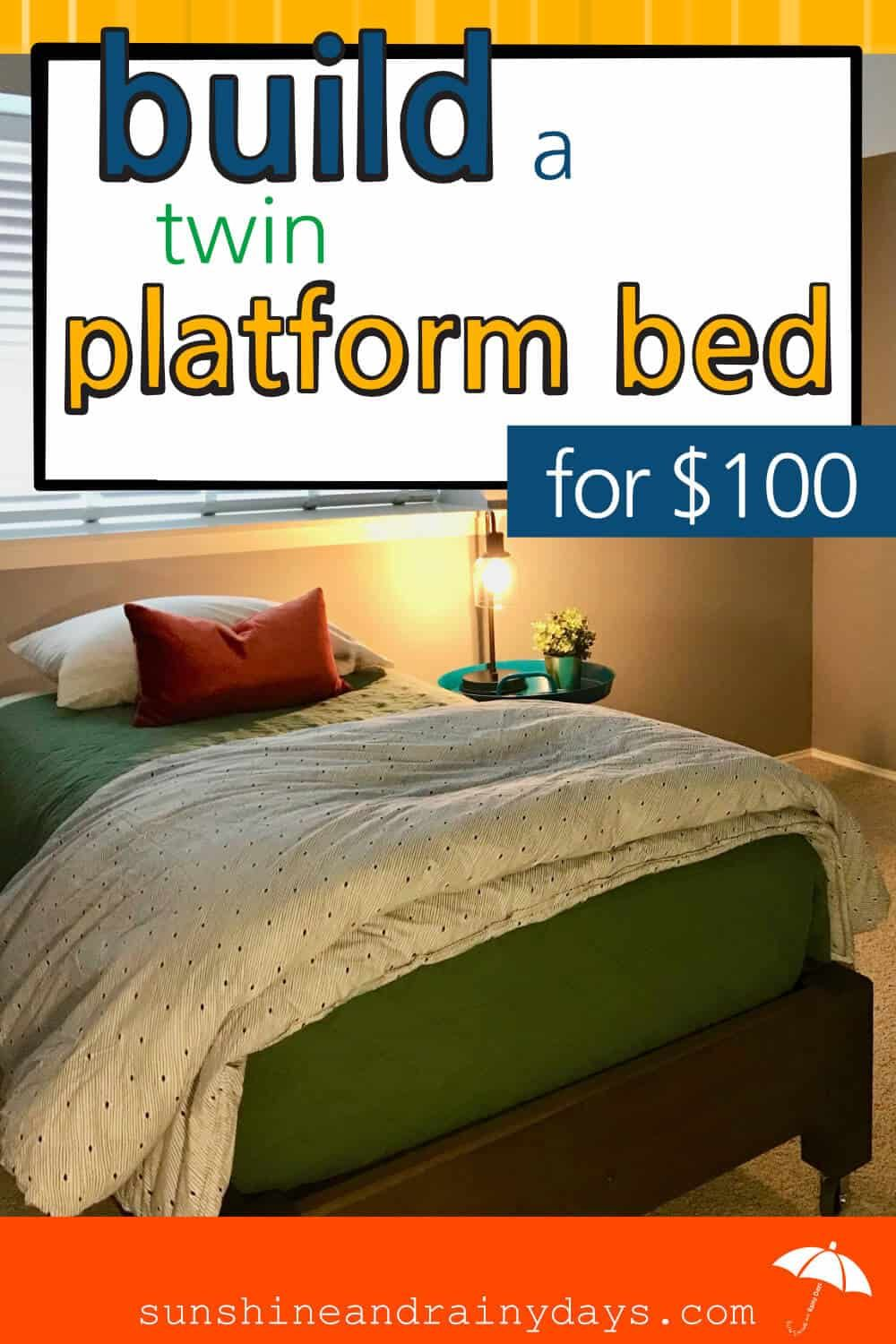 Best How To Build A Twin Platform Bed Twin Platform Bed 640 x 480