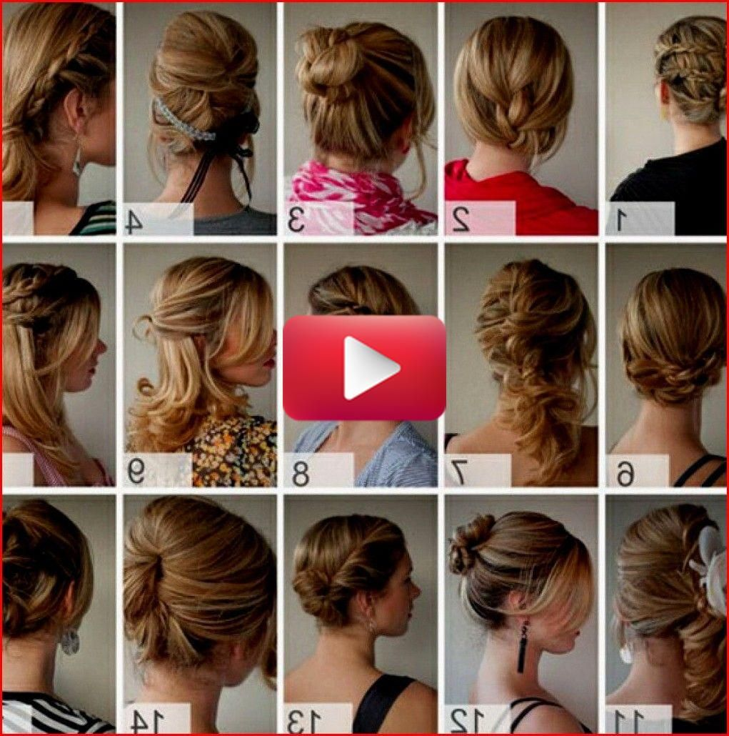 Easy Cute Hairstyles For Teens That Simple And Quick To Do Hair Styles Diy Hairstyles Short Hair Styles Easy