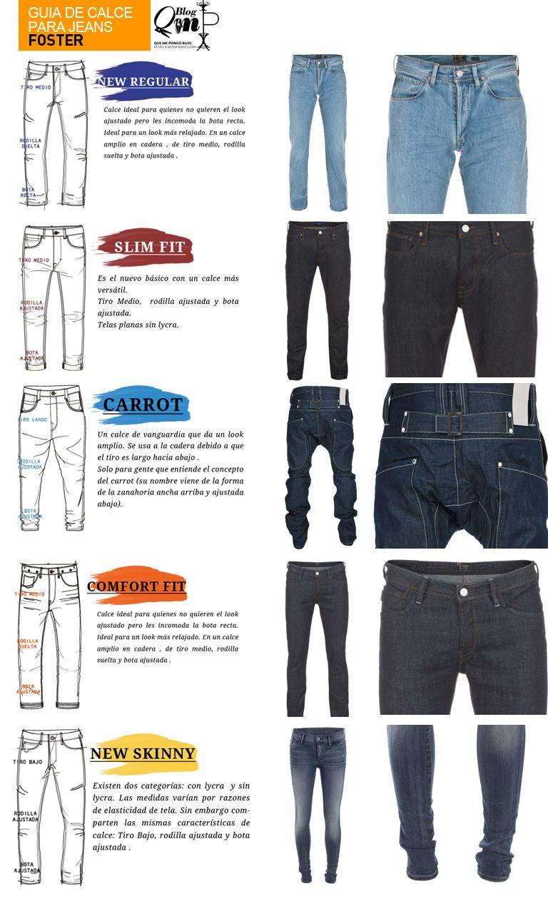 Guia Calce Jeans Moda Ropa Hombre Combinacion De Ropa Hombre Jeans Para Hombre