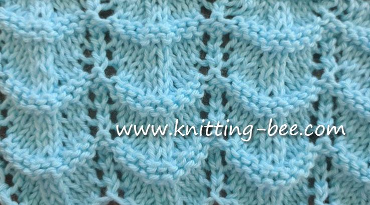 Free Lace Ripple Stitch Knitting Pattern Pinterest Knitting