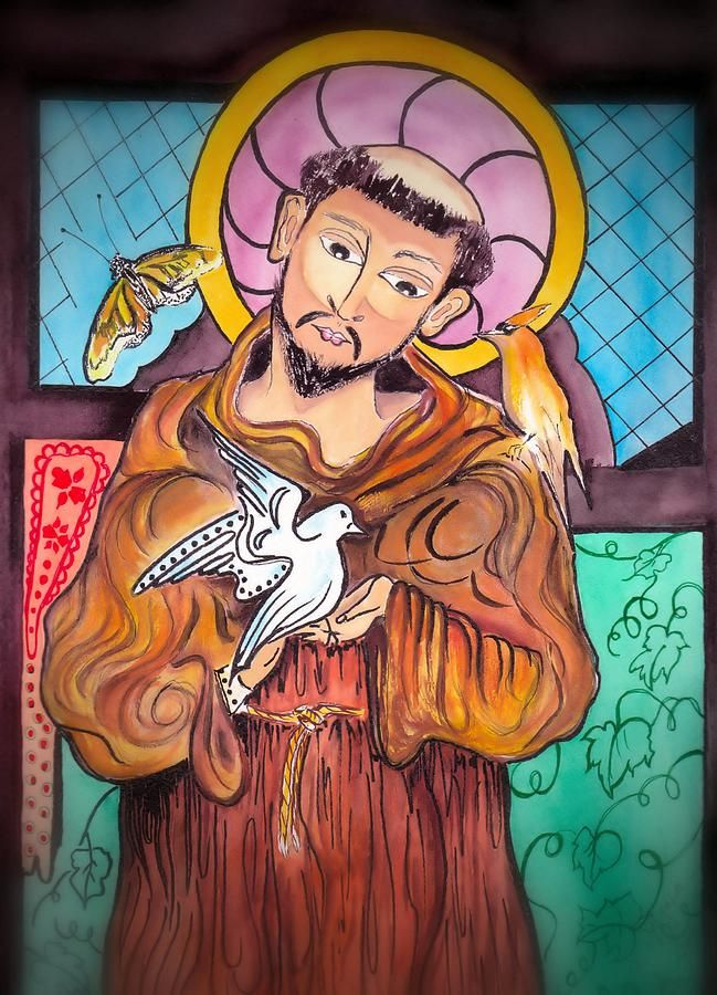 St Francis Of Assisi St Francis Of Assisi Painting St Francis