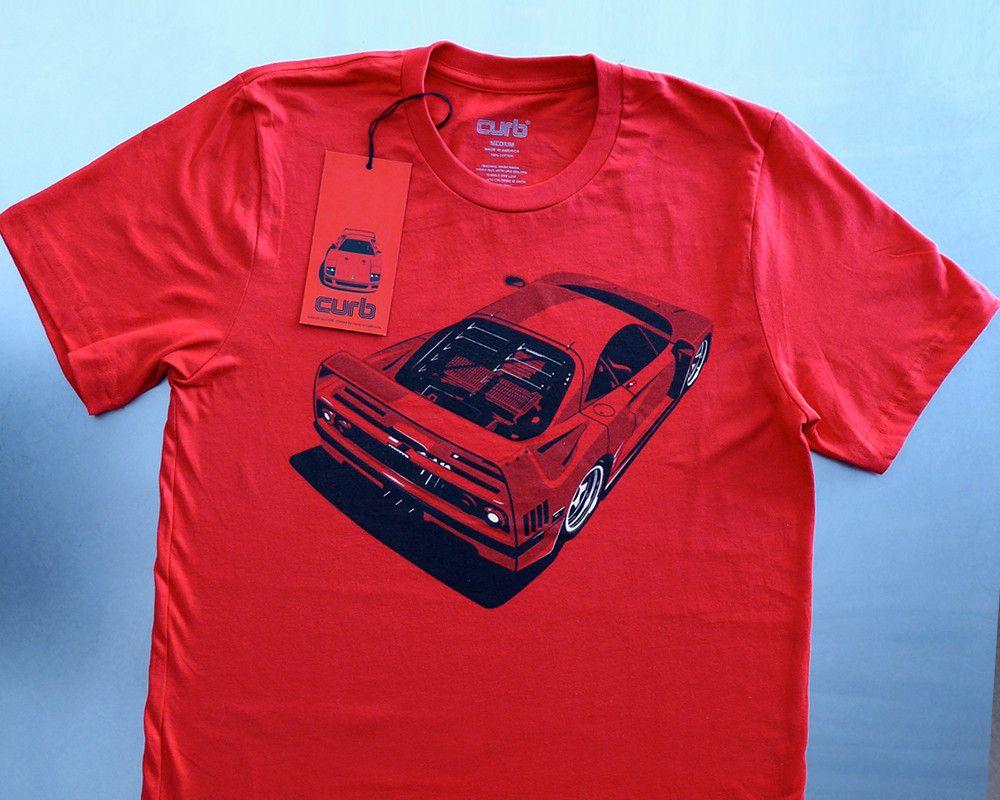 Shirts, T Shirt, Ferrari F40
