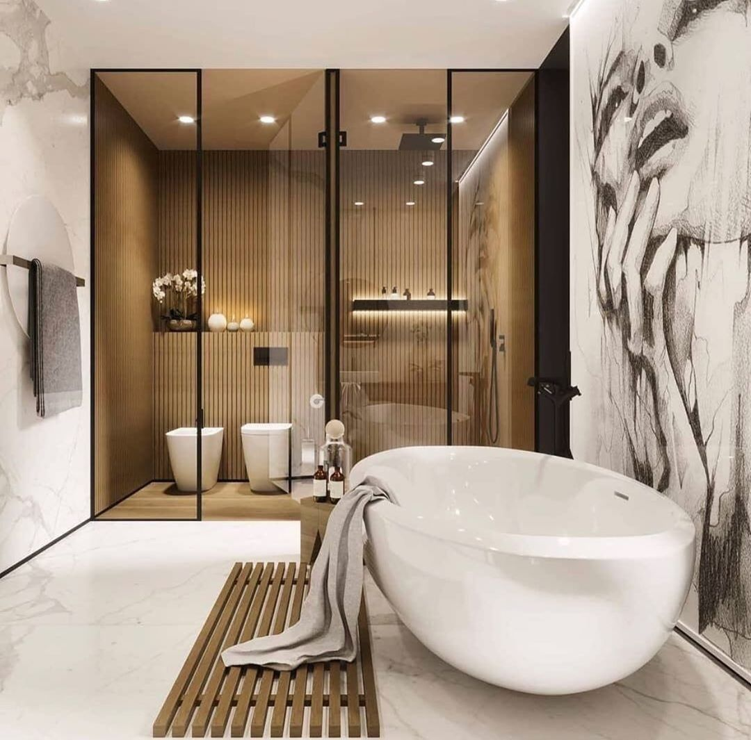 Luxurious Modern Houses On Instagram I Luxuriousmodernhouses The Best Interior Beautiful Bathroom Designs Bathroom Interior Design Bathroom Design Luxury Luxury bathroom design examples