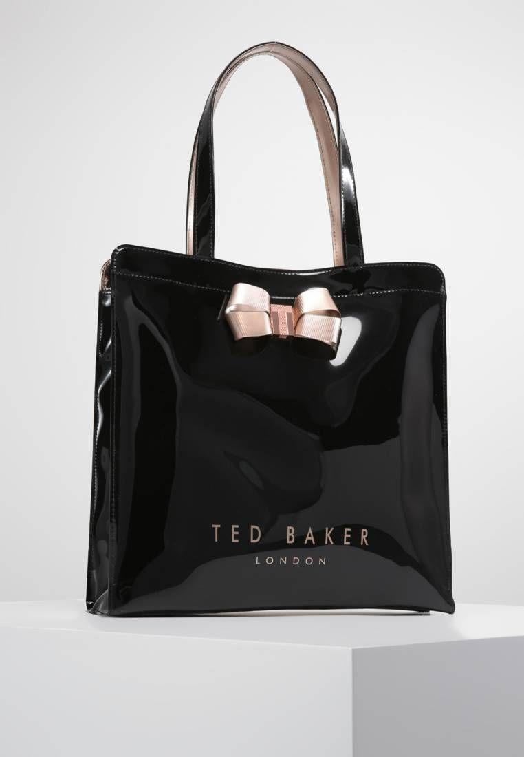 35ce94fc36ddd VALLCON BOW DETAIL LARGE ICON BAG - Tote bag - black   Zalando.co.uk ...