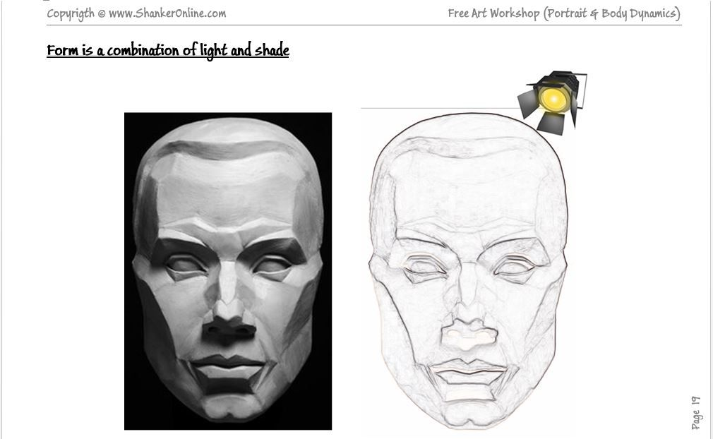 Art Workshop Lesson 7 3d Human Face Shading 622