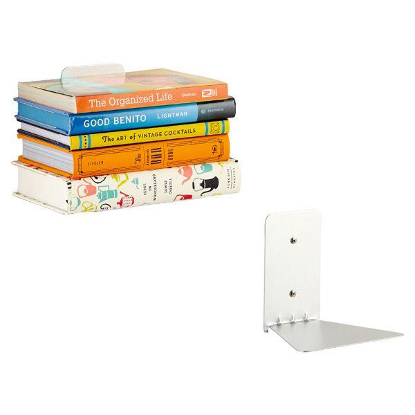 Umbra Conceal Book Shelf Bookshelves Floating Bookshelves Shelves