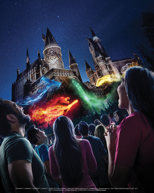 Universal Studios Hollywood Hogwarts Castle Show