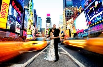 Nyc Times Square Artistic Wedding Photography By Pavel Shpak