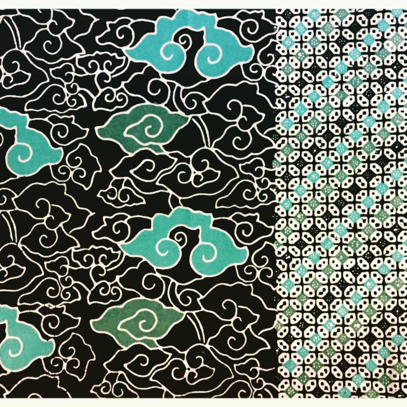 Batik Mega Mendung Tumpal Kawung Mixed Cirebon Jogja Pattern Pola Seni Modern