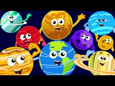 Planet Song | solar system song - YouTube | Outer space
