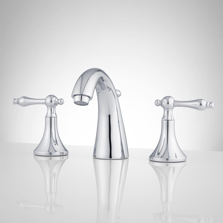 Dalles Widespread Gooseneck Bathroom Faucet | Bathrooms | Pinterest ...
