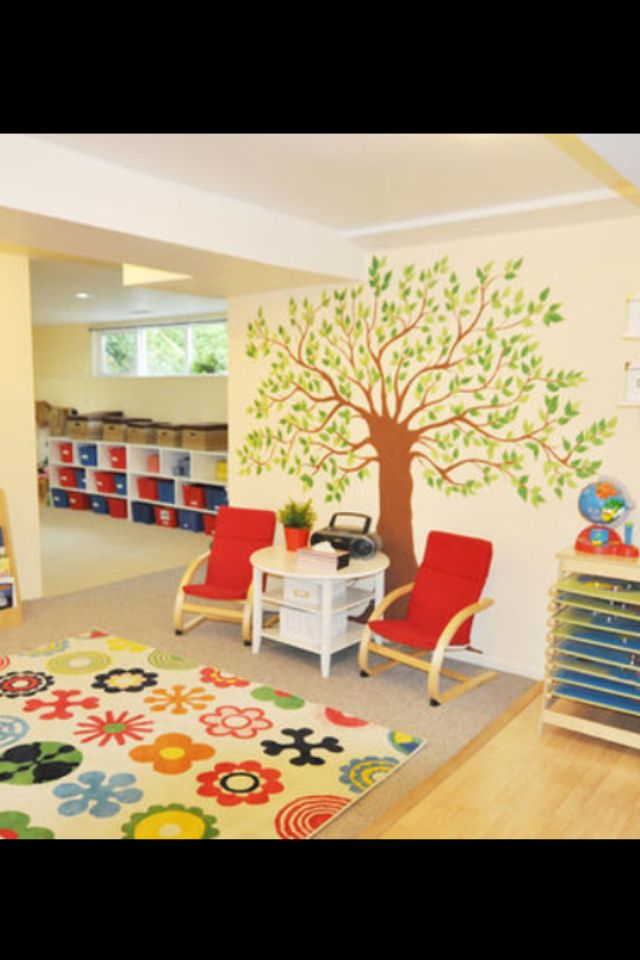 classroom design daycare at home - Designing A Home Preschool Room