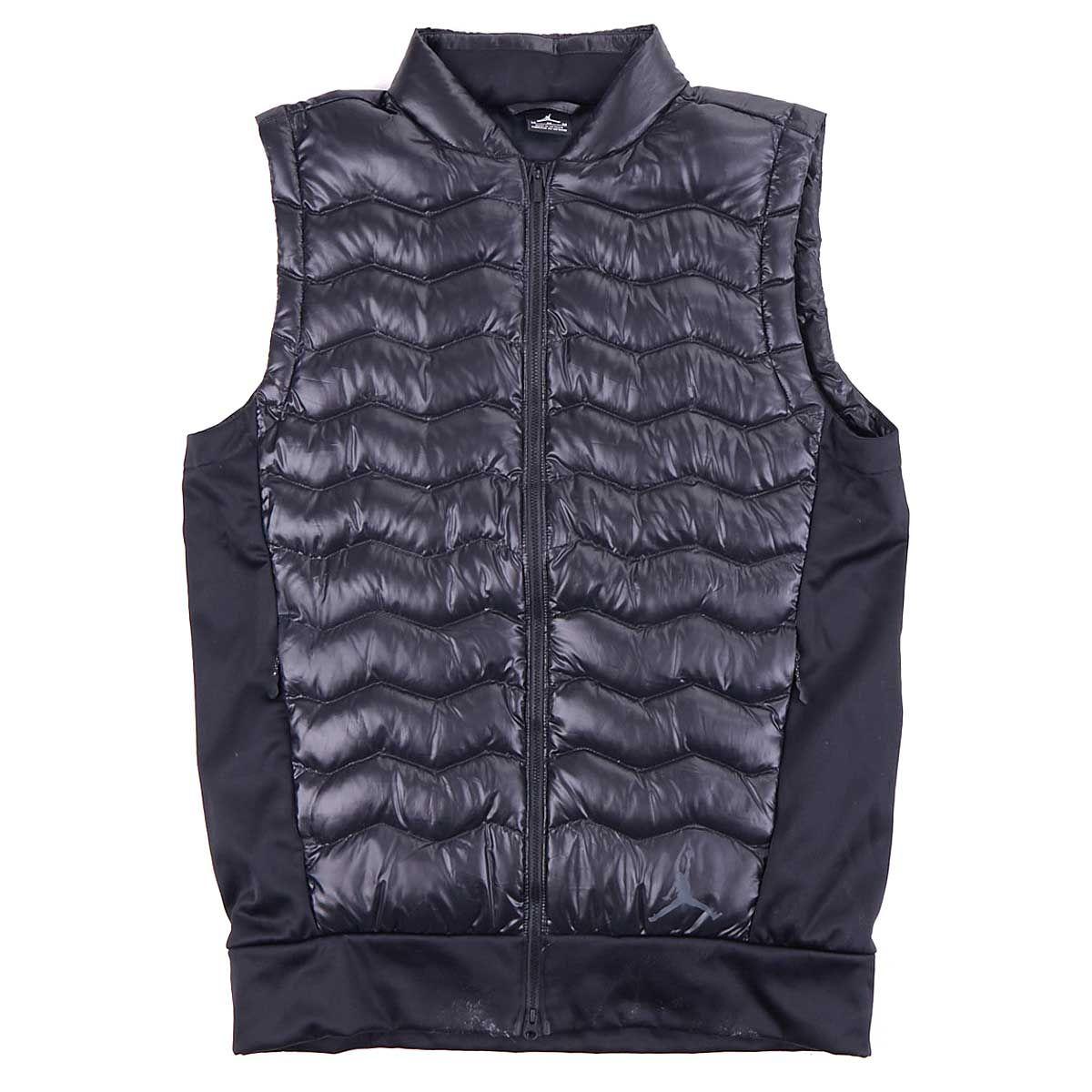 Dwn Vest Perf Jordan Blackblackblackblack Hybrid cTlF3K1J