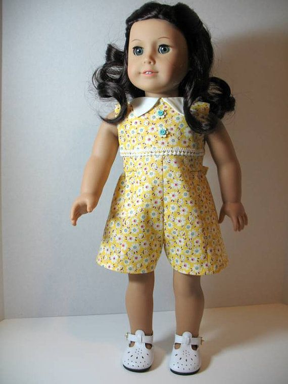 From 2011 - A cute 1930ish romper for Ruthie made from a modified commercial big book pattern
