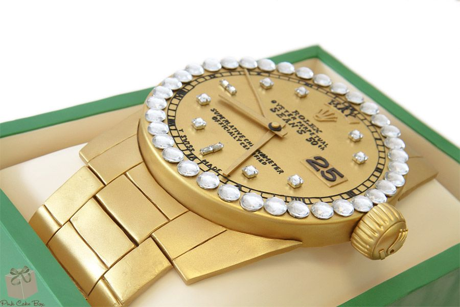 Rolex Watch Birthday Cake » Birthday Cakes