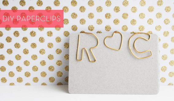 How To: Make Your Own DIY Custom-Shaped Paperclips! For adding a little flair on my DIY business cards!