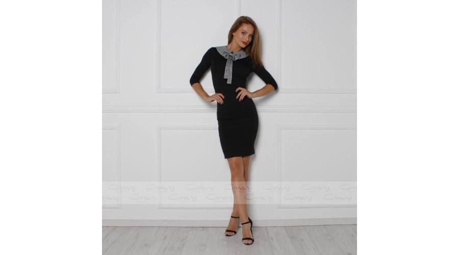 cbc37183ed Envy fekete galléros - masnis ruha | Trend for Me Kft. | Fashion ...