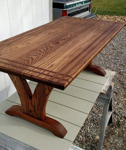 Oak coffee table #woodcraftprojects comedores Pinterest Mesas - Comedores De Madera