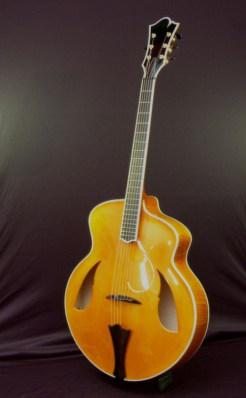 Made In France By Gerard Defurne Acoustic Guitar Jazz Guitar Guitar Gypsy Jazz Guitar