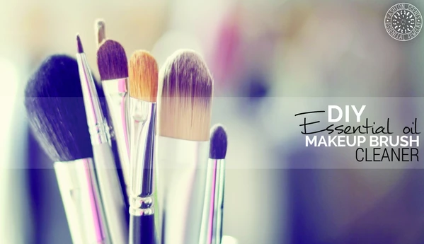 DIY Essential Oil Makeup Brush Cleaner How to clean