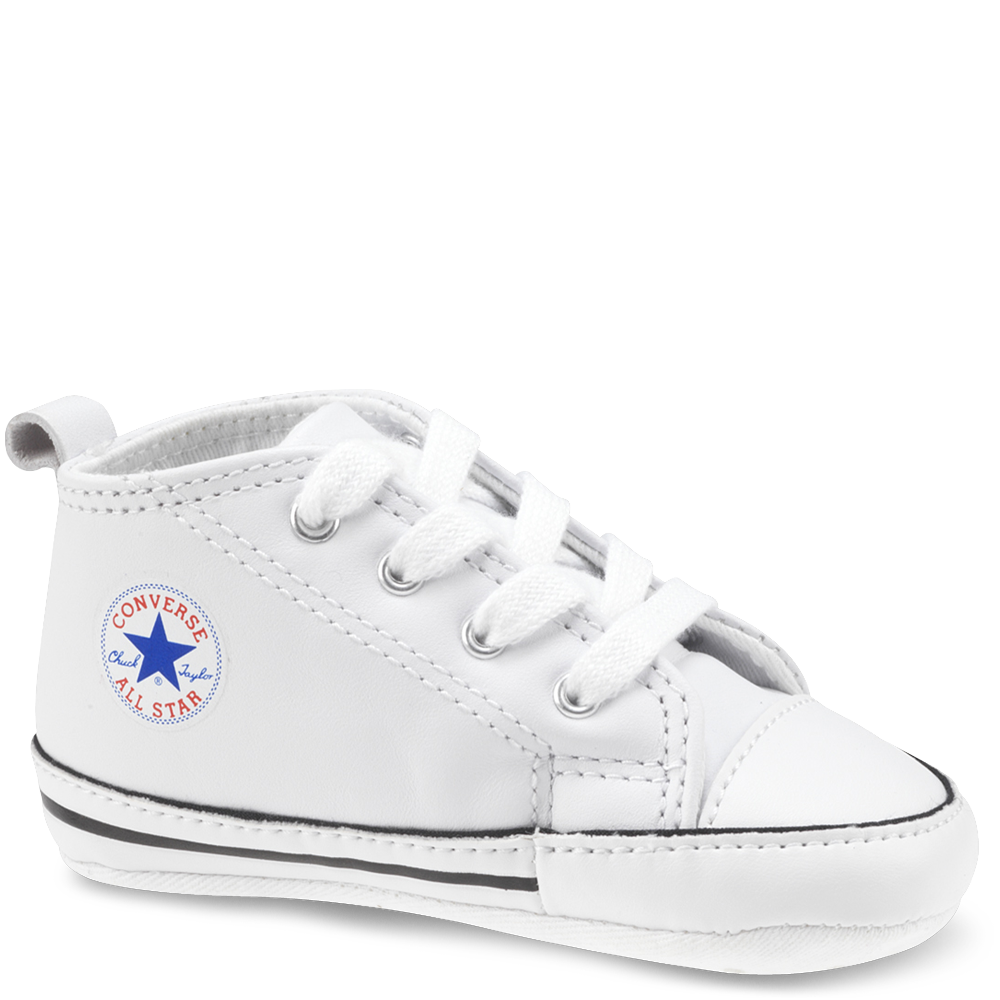 2fca41f73b9 Chuck Taylor First Star Infant White white