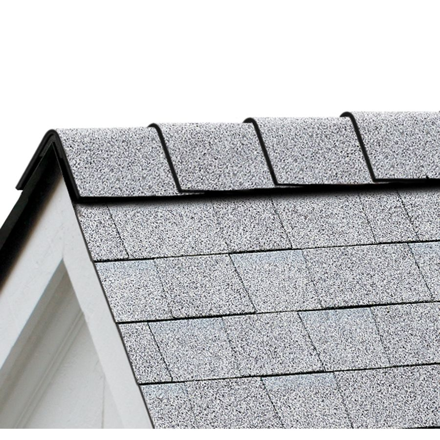 Best Owens Corning Duraridge 20 Lin Ft Shasta White Algae Resistant Hip And Ridge Roof Shingles 400 x 300