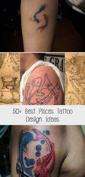 Photo of 50+ Best Pisces Tattoo Design-Ideen – Tattoo Körperkunst, #art #Body #Design #Idea …