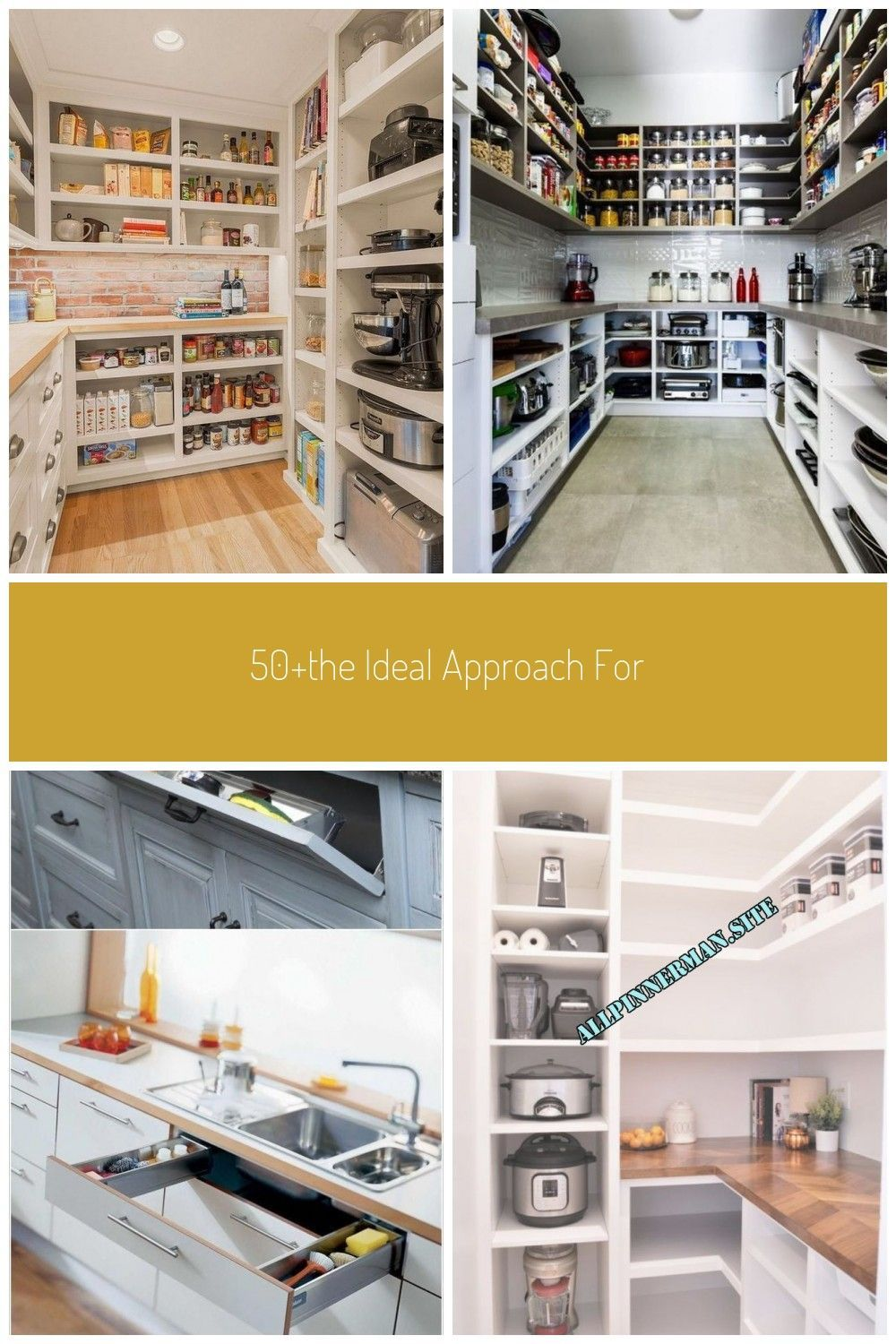 50+The Ideal Approach for Pantry Organization Ideas Walk in Small walmartby..., #50The #Appr...