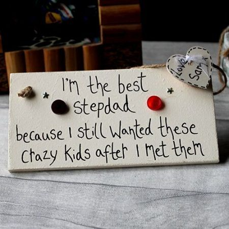 stepdad gifts - Daddy gift handmade - Gift Ideas For DAD - We're talking  Birthday Gift Ideas for Dad, Daddy , Grandad, Father's Day Gift Ideas,  Christmas ... - I'm The Best Stepdad Personalised Plaque Stepdad Gifts Father's