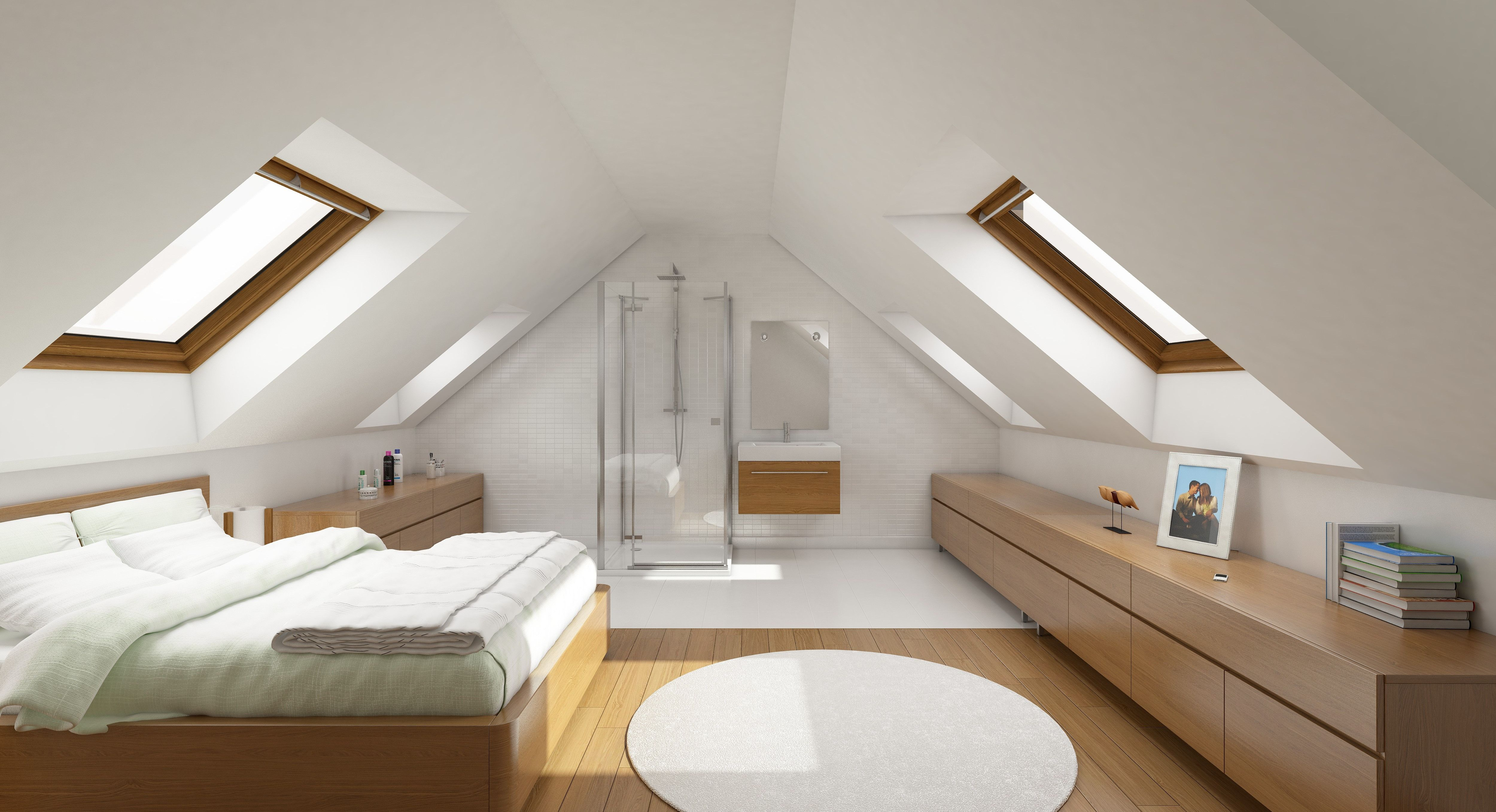 Amenagement Grenier En Chambre Et Salle De Bain Image Result For Suite Parentale Sous Comble Attic Amenagement