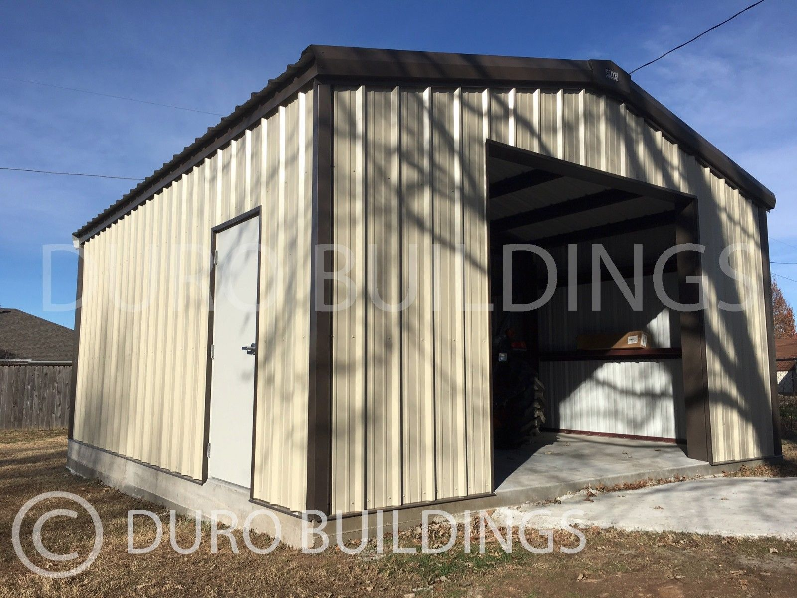 DuroBEAM Steel 30x52x12pr Metal Building Kits DIY Prefab Garage