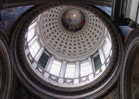 Le Panthéon : L'intérieur