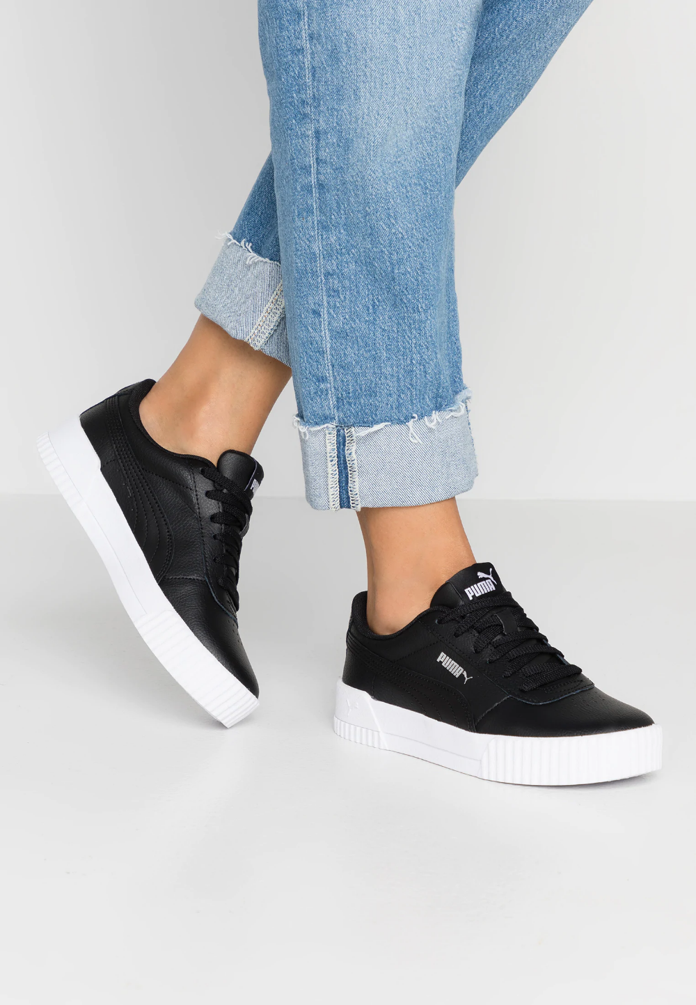 CARINA - Trainers - black/white/silver @ Zalando.co.uk ...