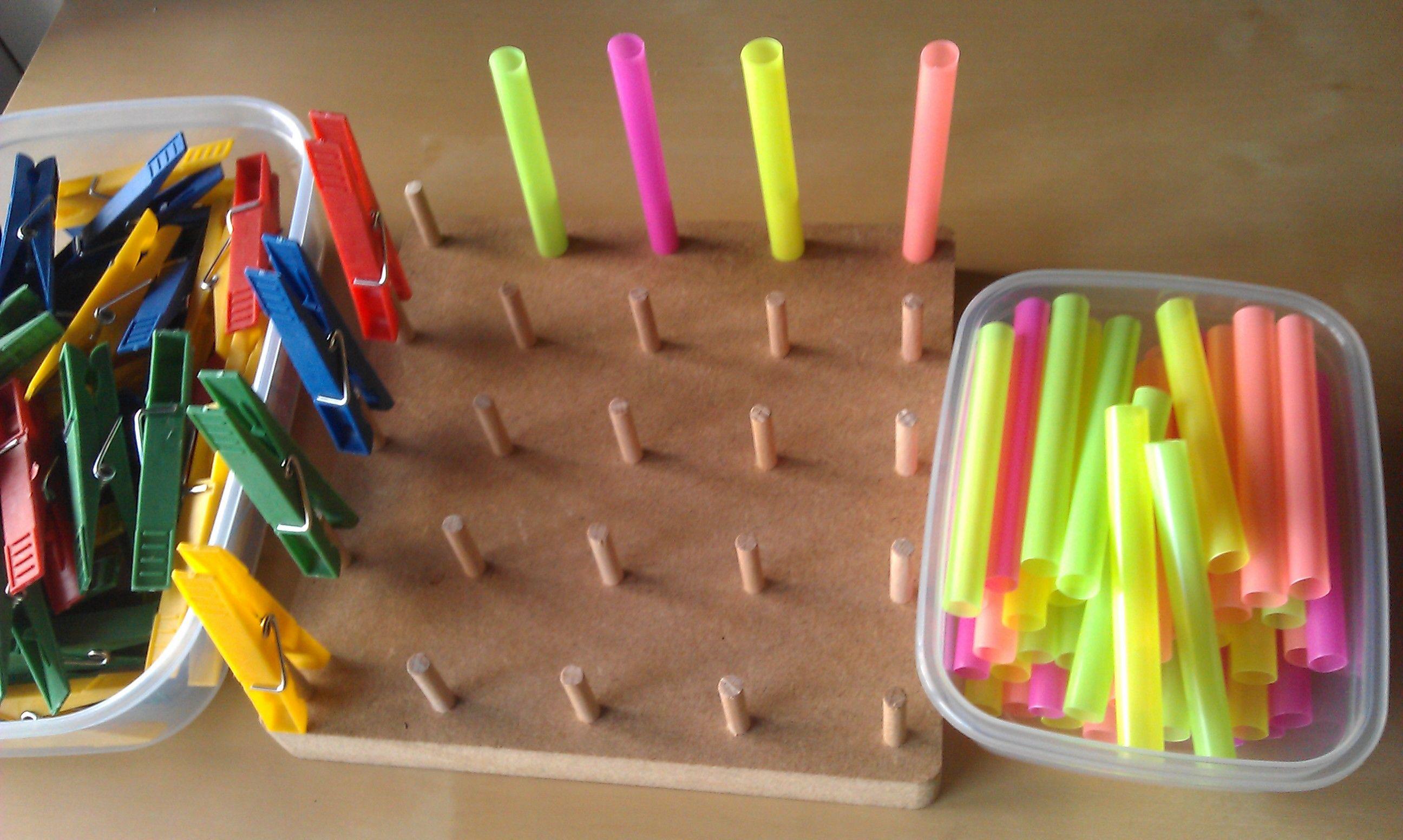 Material Montessori Casero Buscar Con Google Manualidades Ninos