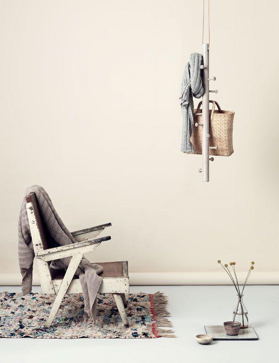 Copenhanger Hängende Design Garderobe Aus Holz Interior