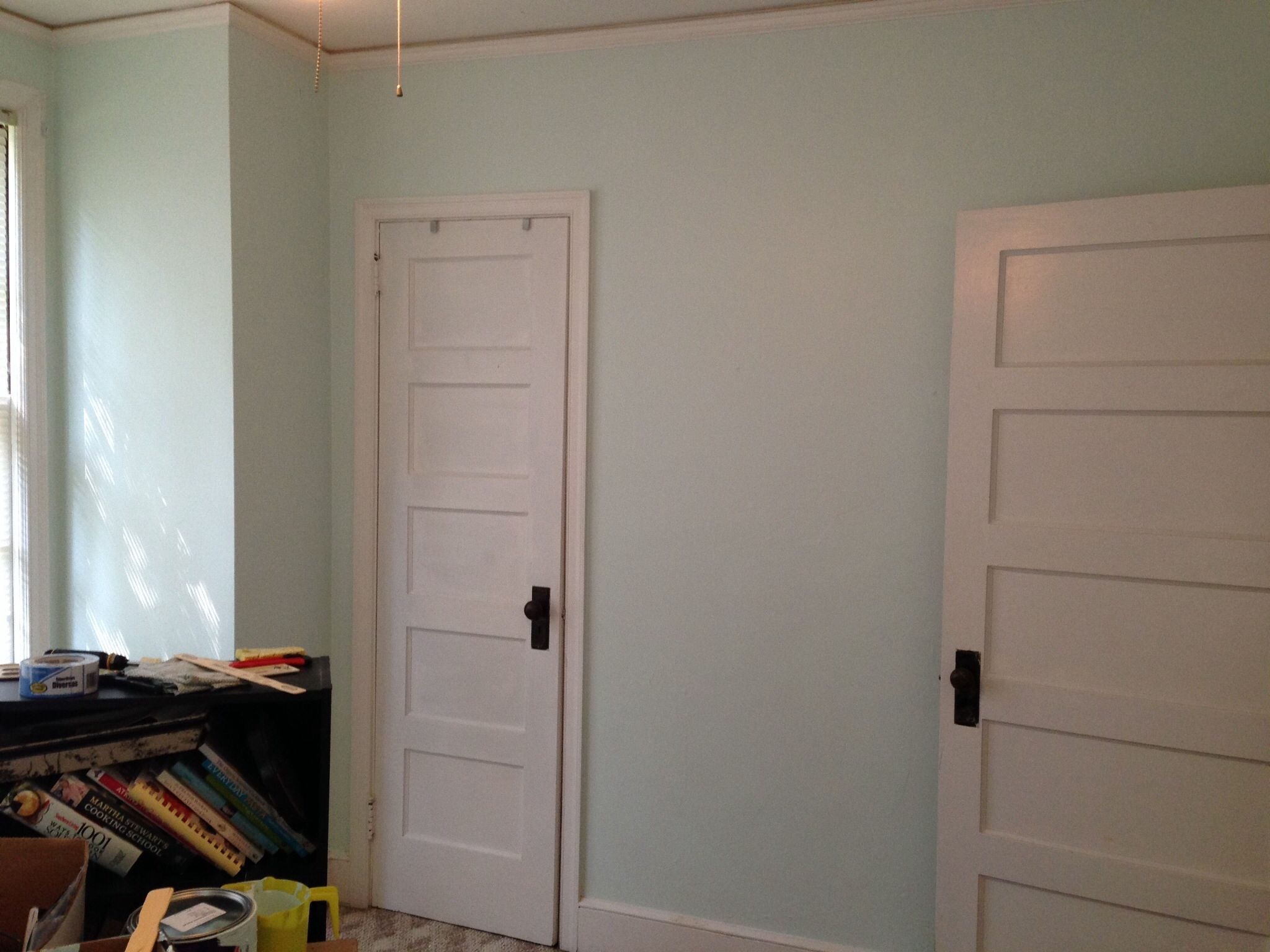 bright clean windy sea breeze by glidden paint spare room to