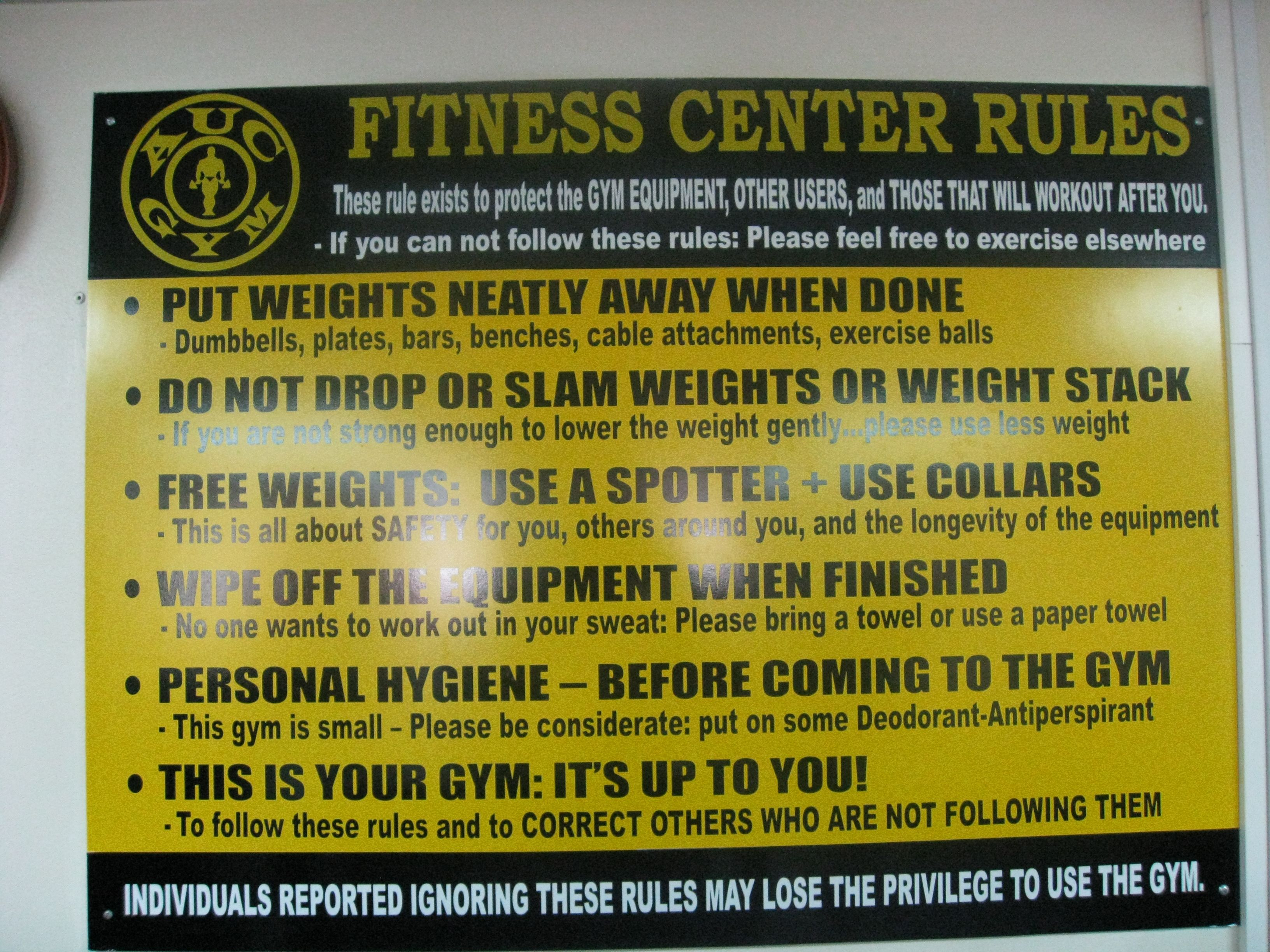 Gym rules google search fitness pinterest