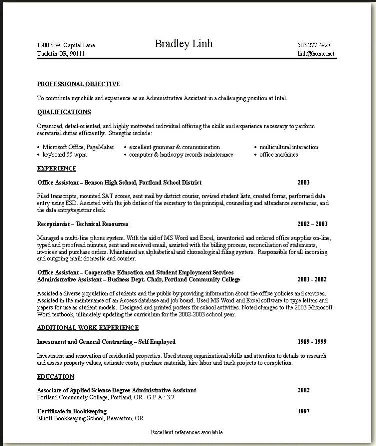 Skills To Include On Resume For Retail resume Pinterest Resume