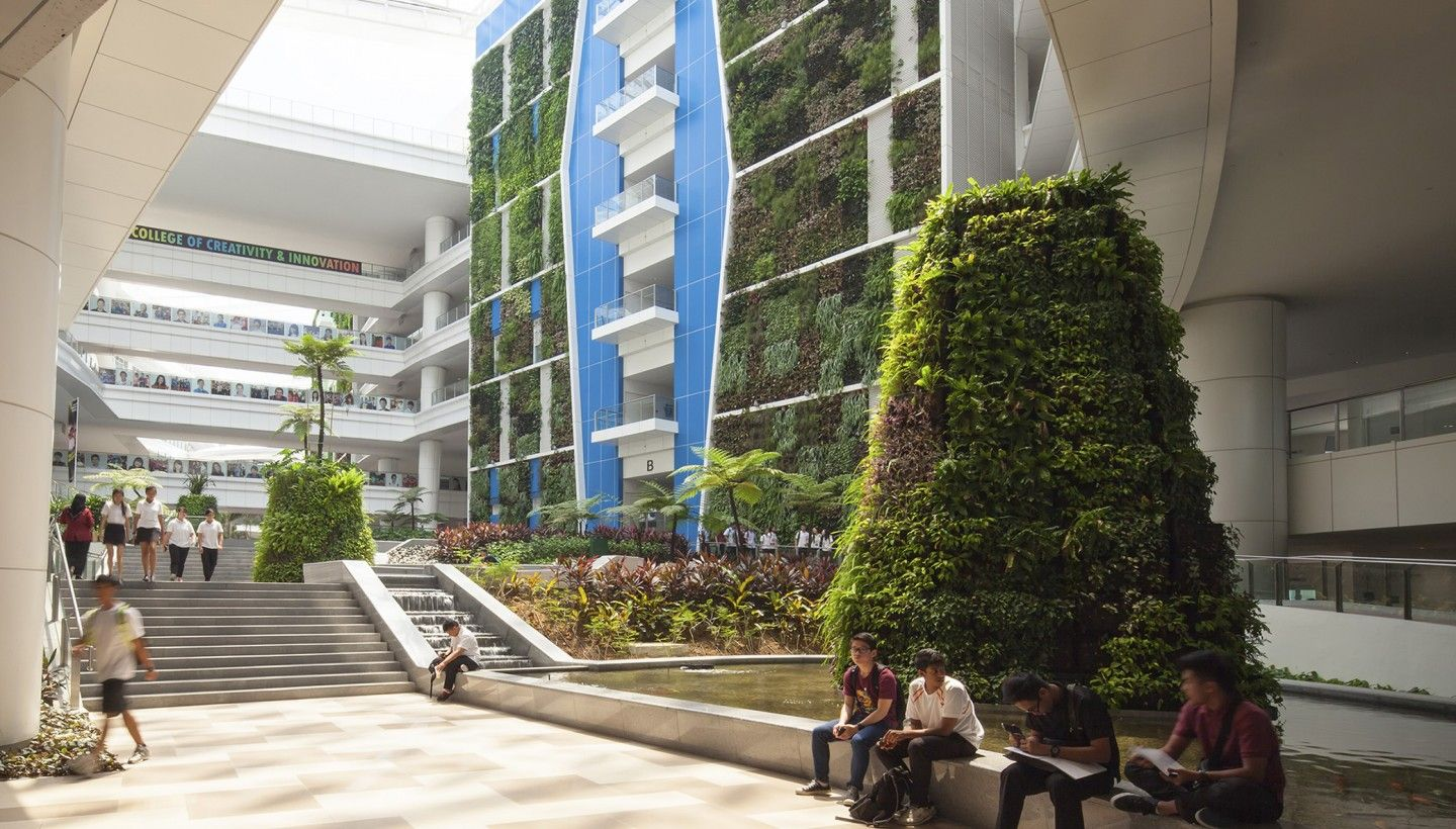 Institute of Technical Education, Singapore | Green ...