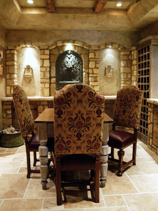 tuscan dining-rooms from loretta willis on hgtv | favorite dining