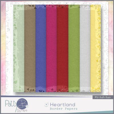 Digital scrapbooking kit PattyB Scraps HEARTLAND  Border Papers http://www.godigitalscrapbooking.com/shop/index.php?main_page=product_dnld_info&cPath=29_335&products_id=23123