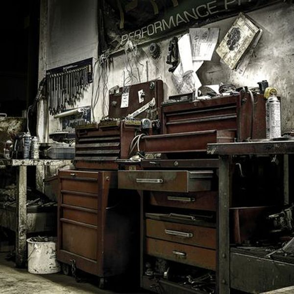 Vintage Garage Ideas: Garage And Tools