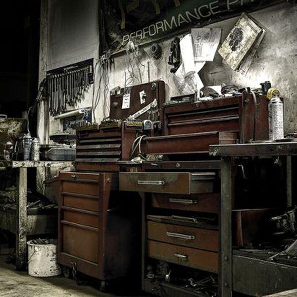 Old Garage, Cool Garages, Garage House