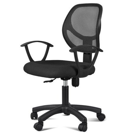 Office Chairs Walmart >> Adjustable Swivel Mesh Office Chair Ergonomic Armrests