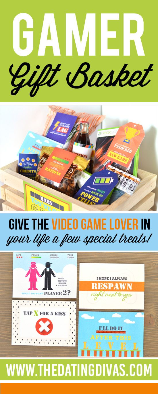 Gamer Gift Basket Best Boyfriend Gifts Gifts For Gamer