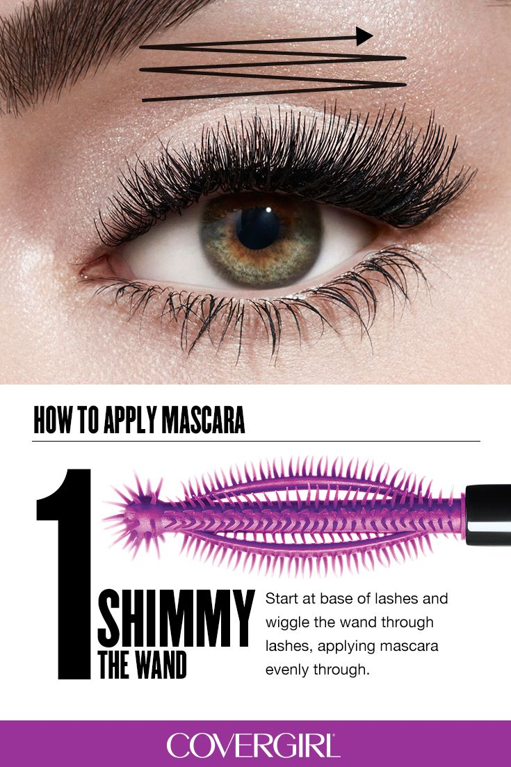 Learn how to apply COVERGIRL So Lashy! Mascara using this ...
