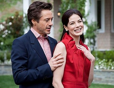 "Robert Downey Jr. and Michelle Monaghan in ""Due Date"""
