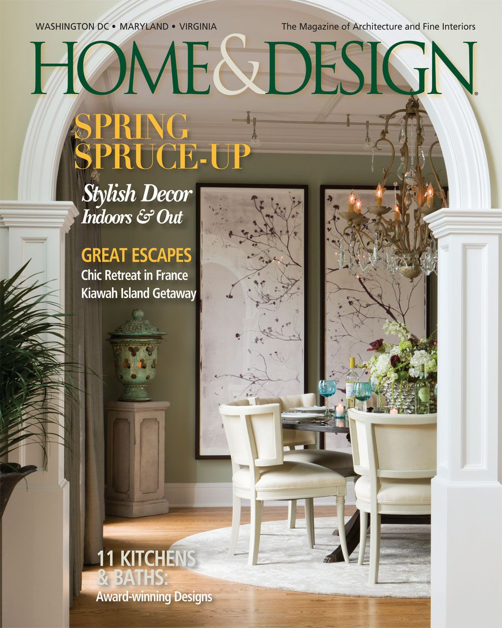 Designer Elizabeth Krial\'s elegant renovation of a Reston, VA home ...